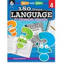 Shell Education 18 Days/Language 4th-grade Book Education Printed Book by Suzanne Barchers - English