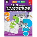 Shell Education 18 Days/Language 5th-grade Book Education Printed Book by Suzanne Barchers - English