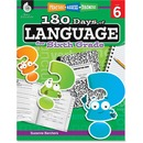 Shell Education 18 Days/Language 6th-grade Book Printed Book by Suzanne Barchers
