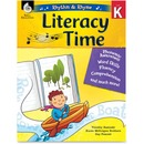 Shell Literacy Time Rhythm/Rhyme Level K Education Printed Book by Timothy Rasinski, Karen McGuigan Brothers, Gay Fawcett