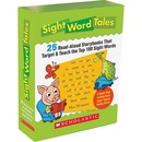 Scholastic Res. Grade K-2 Sight Word Tales Box Set Education Printed Book - English
