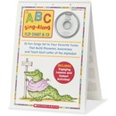 Scholastic ABC Sing Along Flip Chart/CD Education Printed/Electronic Book by Teddy Slater