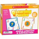 Scholastic Simple Addition & Subtraction Learning Puzzles