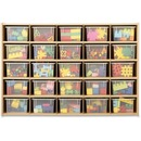 young Time Young Time 25-tray Cubbie Storage Unit