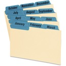 Oxford Laminated Tab Index Card Guides