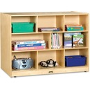 Jonti-Craft Super-sized Double-sided Storage Shelf