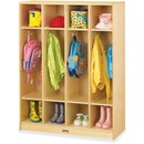Jonti-Craft 4-section Coat Locker