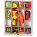 Rainbow Accents 4 Section Coat Locker