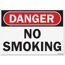 U.S. Stamp & Sign OSHA Danger No Smoking Sign