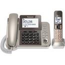 Panasonic KX-TGF350N DECT 6.0 Cordless Phone - Silver, Black
