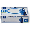 Medline SensiCare Ice Blue Nitrile Exam Gloves
