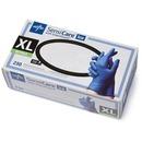 Medline SensiCare Ice Blue Nitrile Exam Gloves