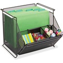 Safco Onyx Stackable Mesh Storage Bin