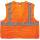 GloWear Orange Econo Breakaway Vest