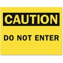 Tarifold Magneto Safety Sign Inserts - Caution Do Not Enter