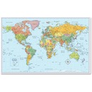 Rand McNally Advantus World Wall Map