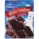 Pillsbury Moisture Supreme Devil's Food Cake Mix