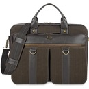 """Solo Executive Carrying Case (Briefcase) for 15.6"""" Notebook - Brown"""