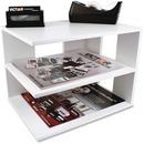Victor W1120 Pure White Corner Shelf