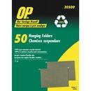 OP Brand Letter Recycled Hanging Folder