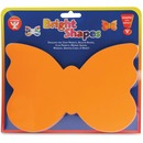 Hygloss Bright Color Butterfly Shapes