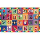 Flagship Carpets ABC Blocks Alphabet Rug