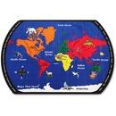 Flagship Carpets Maps That Teach Global Rug