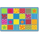 Flagship Carpets Silly Seating Classroom Rug