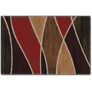 Flagship Carpets Red Waterford Design Rug