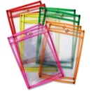 Creativity Street Neon Color Dry-erase Pockets