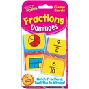 Trend Fractions Dominoes Challenge Cards Game