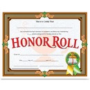 Flipside Honor Roll Certificate