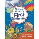 Merriam-Webster First Dictionary Dictionary Printed Book - English
