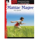 Shell Grade 4-8 Maniac Magee Instructional Guide Activity Printed Book by Jerry Spinelli