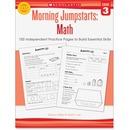 Scholastic Res. Grade 3 Morning Jumpstart Math Workbook Education Printed Book for Mathematics