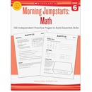 Scholastic Res. Grade 6 Morning Jumpstart Math Workbook Education Printed Book for Mathematics