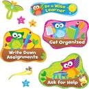 Trend Owl Study Habits Bulletin Board Set