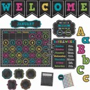 Teacher Created Resources Chalk Brights Accents Brd Set