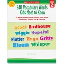 Scholastic Grade-2 240 Vocabulary Words Book Education Printed Book by Mela Ottaiano - English