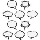 Teacher Created Resources Speech Bubbles Magnet Accents
