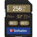 Verbatim Pro+ 256 GB SDXC