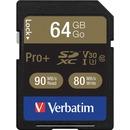 Verbatim Pro+ 64 GB SDXC