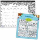 Blueline Botanica Design Monthly Desk Pad