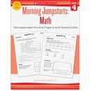 Scholastic Res. Grade 4 Morning Jumpstart Math Workbook Education Printed Book for Mathematics by Martin Lee, Marcia Miller - English