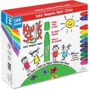 The Pencil Grip Kwik Stix 144-Piece Tempera Paint Sticks