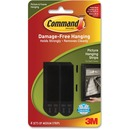 Command™ Medium Black Picture Hanging Strips