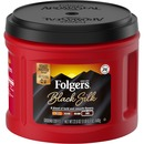 Folgers Black Silk Dark Ground Coffee Ground