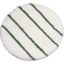 "Rubbermaid Commercial Green Strips 21"" Carpet Bonnet"