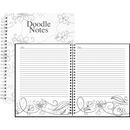 House of Doolittle Doodle Notes Spiral Notebook