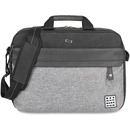"Solo Urban Carrying Case (Briefcase) for 15.6"" Notebook - Black, Gray"